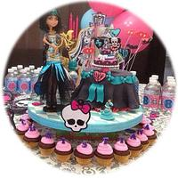 Monster High featuring Cleo de Nile