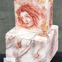 Leonardo da Vinci challenge, beautiful lady