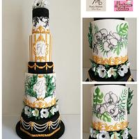 Evergreen Birthday Cake
