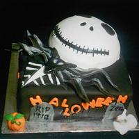 Jack from Nightmare Before Christmas by Maria Cazarez Cakes and Sugar Art