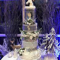 Narnia Wedding cake