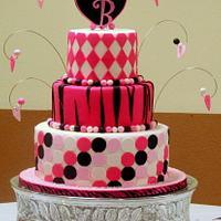 Sweet Sixteen Cake by Frost it Fancy Cakes