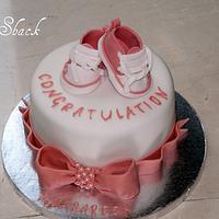 baby shower cake!! by shahin