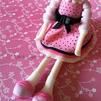 Lalaloopsy cake topper by CakesbyAngelaMorrison