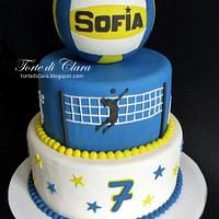 Volley cake