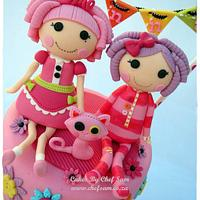 2 Lalaloopsy Dolls by chefsam