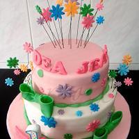 1st flowery birthday