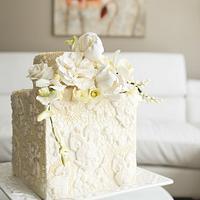 #3 Wedding Cake inspired by Enchanted Garden