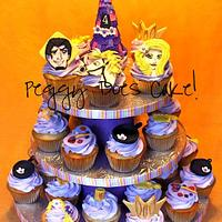 Tangled Cupcake Tower