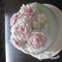 Vintage cake roses. by Sugar&Spice by NA