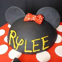 Rylee's Minnie Mouse by Pam - Kingman Cake Company