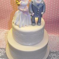 Novelty Topper Wedding Cake