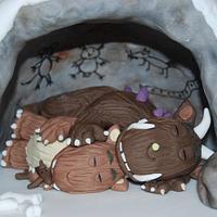 Sleeping Gruffalo... by Kupcake
