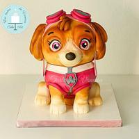 Paw Patrol Skye 3D Cake