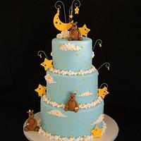 Beary Cloudy Dream Cake