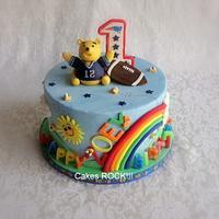 """Pooh Brady"" First Birthday"