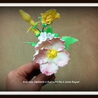 My 1st Stargazer & Briar Rose Bouquets by FiasCreations