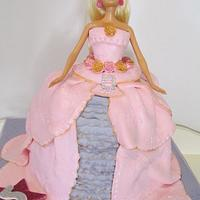 Princess Doll Cake by thecakepantry
