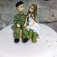 Wedding Cake by Sue