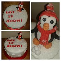 LET IT SNOW! Luxury fruit christmas cake