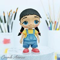 Cute Girl Cake Topper