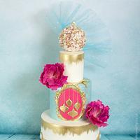 My Cake Central Magazine Cover Cake