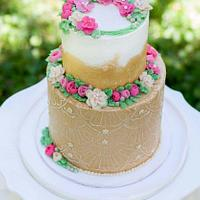 Mother's Day Tea Party cake
