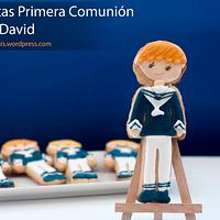 First Communion Cookies for David
