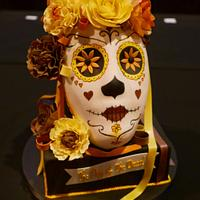 Day of the Dead Celebration Cake