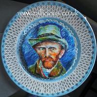 Van Gogh on a cookie