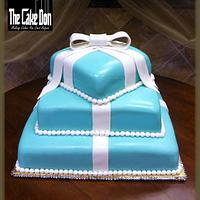 THE TIFFANY TIMES THREE SWEET 16 CAKE by TheCakeDon