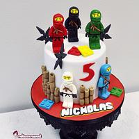 Lego ninjago party set