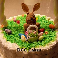Easter basket by DCC Cakes, Cupcakes & More...