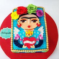 Frida Kahlo Cake - Torta Frida Kahlo