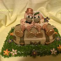 Honeymoon cake