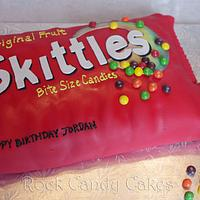 Candy Bag by Rock Candy Cakes