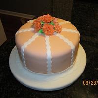 Elegant Rose Cake