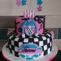 Fifties Style Cake
