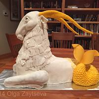 Capricorn cake.