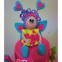 Little Doll cake for birthday