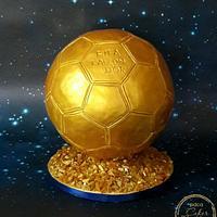 Caker Buddies Collab-Glamour-FIFA BALLON D'OR