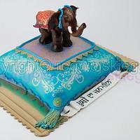 Bollywood style cake / Tort w stylu Bollywood