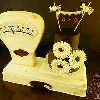 Scales Cake