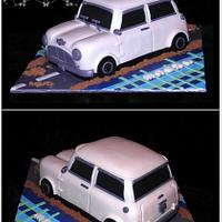 Classic Mini Morris cake