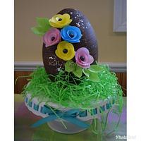 Easter Egg Cake by Kelly Stevens