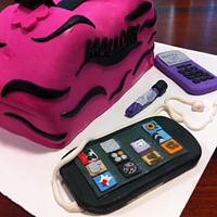 Rocker-Girl Purse Cake