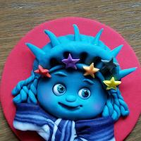 Statue of Liberty Cupcake Topper