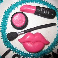 make-up cake by vkylyn