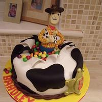 Woody, Toy Story Cake