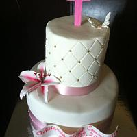 Pink communion by Cherlynn Michelizzi